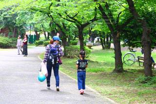 公園,親子,女の子,母,娘,お母さん