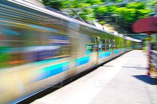 近くに電車のの写真・画像素材[1247578]
