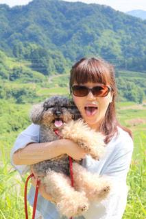 サングラス犬の写真・画像素材[1265718]