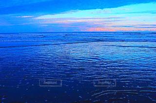 海,夕日,ビーチ,夕焼け,九十九里