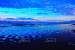 海,夕日,ビーチ,九十九里