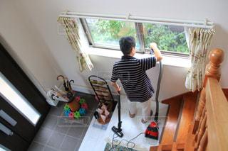 屋内,階段,室内,玄関,自宅,清掃,掃除機,お掃除