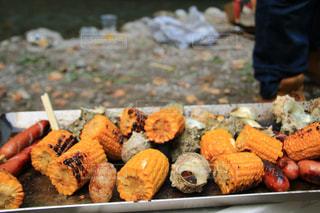秋,バーベキュー,BBQ,食欲の秋