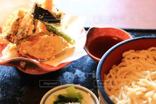 うどん,昼食,天ぷら,フォトジェニック,天ざるうどん,私とごはん
