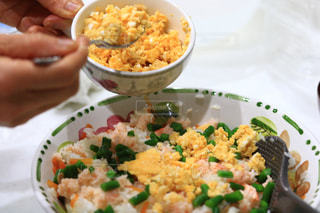 ディナー,お寿司,手料理,夕飯,自宅,フォトジェニック,私とごはん,蟹チラシ