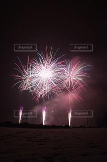 夜空の花火の写真・画像素材[1782423]