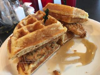 アメリカ,ワッフル,USA,フライドチキン,はちみつ,chicken,アトランタ,ワッフルバーガー,ATLANTA,ATLANTA BREAKFAST CLUB,Honey,Waffle