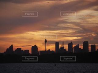 風景,海,夕焼け,旅行,オーストラリア,夕陽,海外旅行,シドニー,シドニー タワー