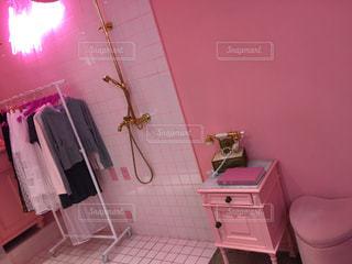 ピンクのバスルーム - No.848860