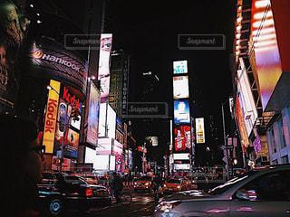 タイムズスクエアの写真・画像素材[1020649]