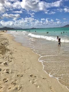 子ども,自然,海,空,夏,アメリカ,女の子,観光,旅行,America,ハワイ,Hawaii,summer,girl,ホノルル