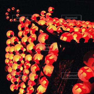 カラフルな風船のグループの写真・画像素材[788614]