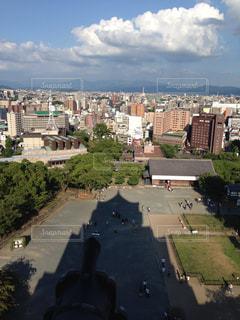 熊本城,天守閣からの眺め