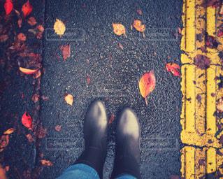 靴は人の手のグループの写真・画像素材[816982]