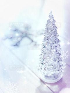 氷と雪でガラスの写真・画像素材[927068]