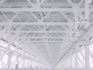 大きな白い建物の写真・画像素材[1041294]