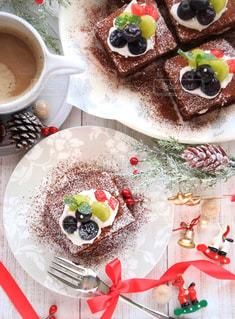 カップのように作られたケーキの写真・画像素材[1045583]