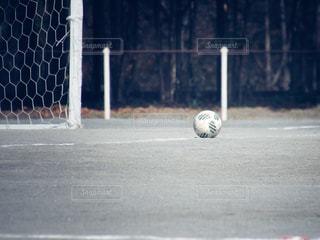 近くにサッカー ボールのアップ - No.1219917