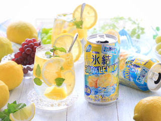氷結 レモンの写真・画像素材[1324613]