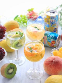 氷結 レモンとパイナップルの写真・画像素材[1324614]