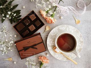 ラメゾンデュショコラ バレンタインチョコレートの写真・画像素材[1743800]