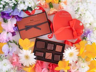 バレンタインチョコレートの写真・画像素材[1748190]
