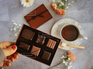 バレンタインチョコレートの写真・画像素材[1748195]