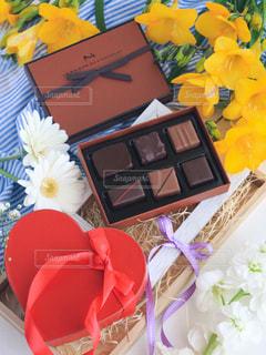 バレンタインチョコレートの写真・画像素材[1748202]