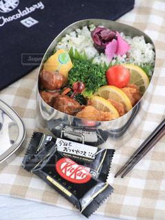 お弁当の写真・画像素材[2051068]