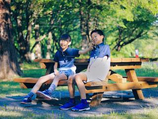 公園の写真・画像素材[2167994]
