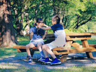 公園の写真・画像素材[2167999]