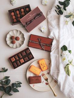 チョコレートの写真・画像素材[2240259]