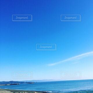 空と海と山の写真・画像素材[1134762]