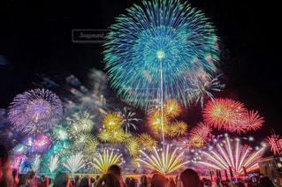 カラフル花火の写真・画像素材[1598136]