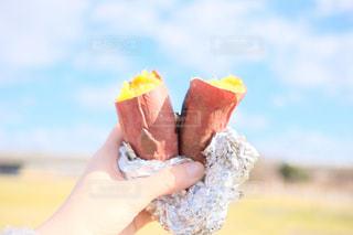 焼き芋の写真・画像素材[1842055]