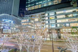建物,夜景,屋外,大阪,イルミネーション,都会,高層ビル,グランフロント大阪,シャンパンゴールド