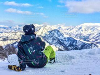 風景,雪,後ろ姿,スノボ,ゲレンデ,雪マジ
