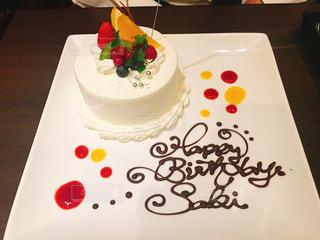 ケーキ,幸せ,大人,誕生日,サプライズ