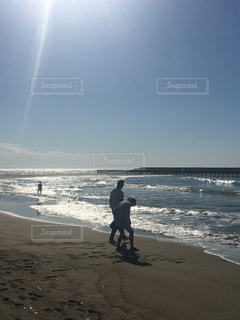 自然,海,空,屋外,太陽,ビーチ,水面,海岸,日差し,光