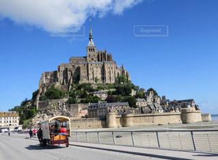 Mont-Saint-Michelの写真・画像素材[825443]