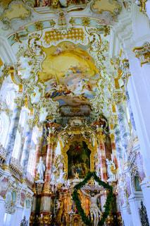 ヴィース巡礼教会の写真・画像素材[825553]