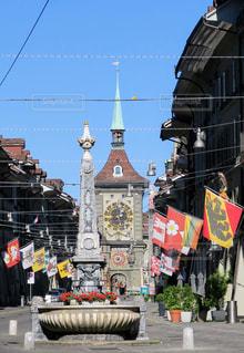 スイス ベルン旧市街の写真・画像素材[827823]
