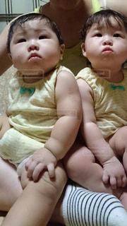 仲良し,赤ちゃん,いとこ,似てる,2人