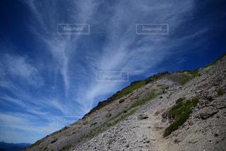 白根山の山頂付近の写真・画像素材[1409202]