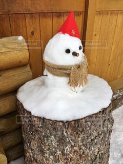 雪だるまの写真・画像素材[889617]