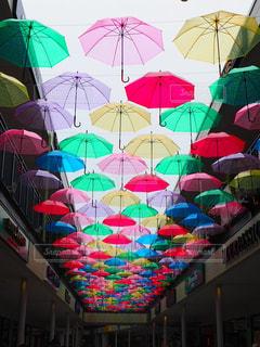 雨,傘,カラフル,鮮やか,アウトレット,長島