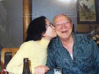仲良し,ツーショット,曾祖父母