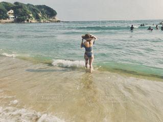 海,夏,水着