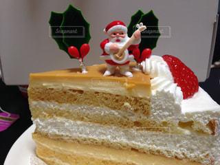 ケーキ,デザート,クリスマス,サンタクロース,クリスマスケーキ