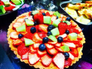 料理はケーキでいっぱいです。の写真・画像素材[755489]